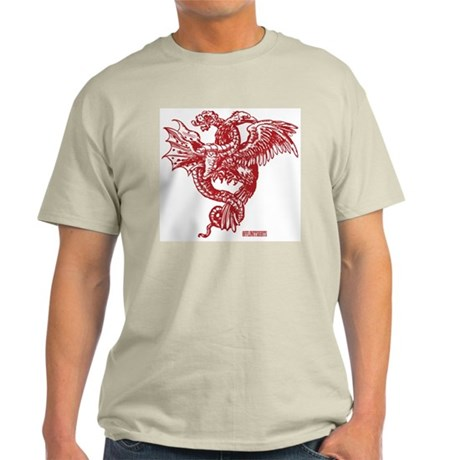 Winged Monster Fight Light T-Shirt
