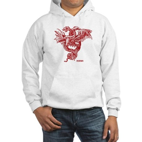 Winged Monster Fight Hooded Sweatshirt