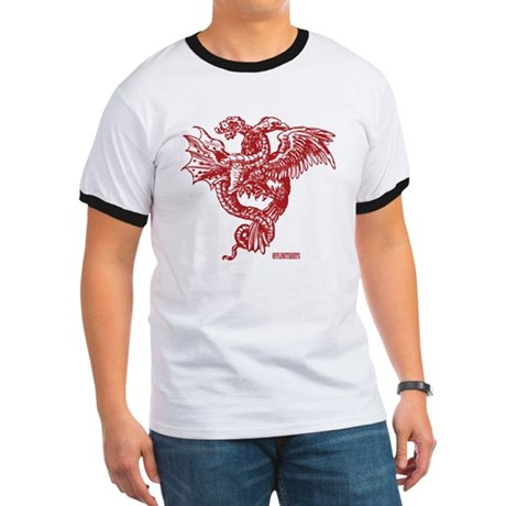 Winged Monster Fight Ringer T