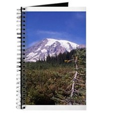 Mount Rainier blank journal