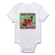 The Farm Infant Bodysuit