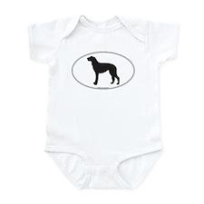 Deerhound Silhouette Infant Bodysuit