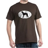 Deerhound Silhouette T-Shirt