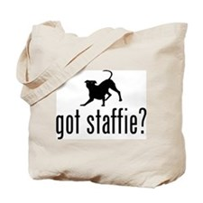 Staffordshire Bulldogge Tote Bag