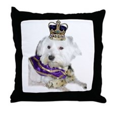Funny Royal family Throw Pillow