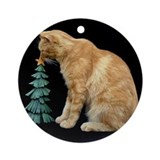 Oliver's Christmas Ornament (Round)