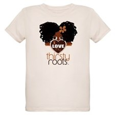 Curly Natural Afro T-Shirt