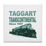 Cute Taggart transcontinental Tile Coaster