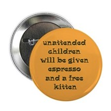 "Unique Expresso 2.25"" Button (10 pack)"