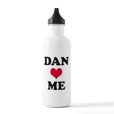 Dan Loves Me Stainless Water Bottle 1.0L