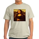 The Mona Lisa da Vinci 1503 Ash Grey T-Shirt