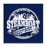 Steamboat Old Circle 50th Tile Coaster