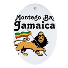Montego Bay, Jamaica Ornament (Oval)