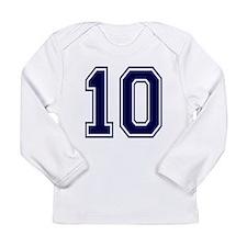 blue10.png Long Sleeve Infant T-Shirt