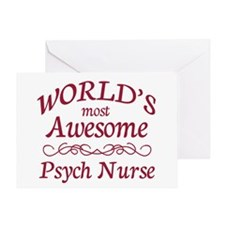 Psych Nurse Greeting Card