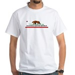 Ca. Surfing Republic White T-Shirt