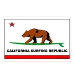Ca. Surfing Rep.Postcards (Package of 8)