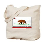 Ca. Surfing Republic Tote Bag