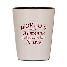 Awesome Nurse Shot Glass