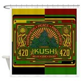 420 Kush Shower Curtain