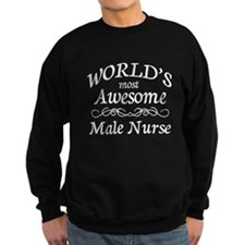 Awesome Male Nurse Sweatshirt
