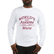 Awesome Murse Long Sleeve T-Shirt