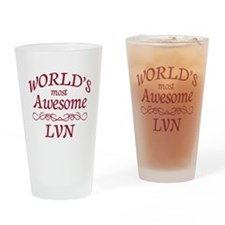Awesome LVN Drinking Glass