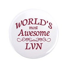 "Awesome LVN 3.5"" Button (100 pack)"