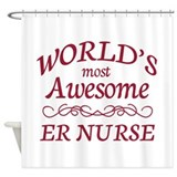 Awesome ER Nurse Shower Curtain