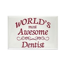 Awesome Dentist Rectangle Magnet