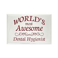 Awesome Dental Hygienist Rectangle Magnet (10 pack