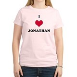 I Love Jonathan T-Shirt