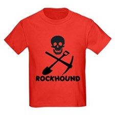 Rockhound Skull Cross Pick Shovel T