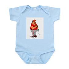 Sleeping Ball Player Infant Bodysuit