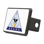 NSAWC logo Rectangular Hitch Cover