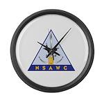 NSAWC logo Large Wall Clock