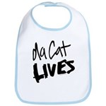 Da Cat LIVES Bib