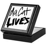 Da Cat LIVES Keepsake Box
