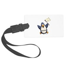 Rhode Island Penguin Luggage Tag