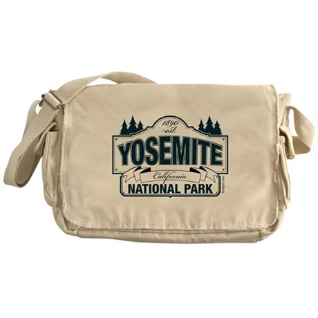 Yosemite Slate Blue Messenger Bag