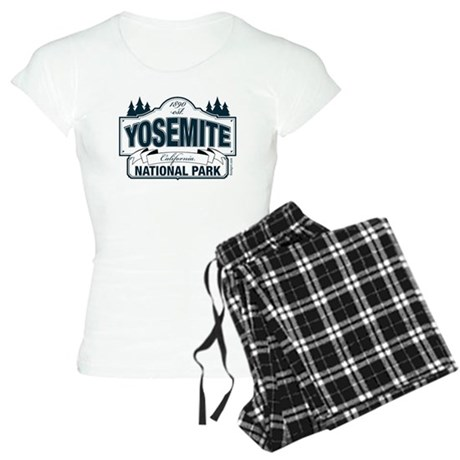 Yosemite Slate Blue Women's Light Pajamas