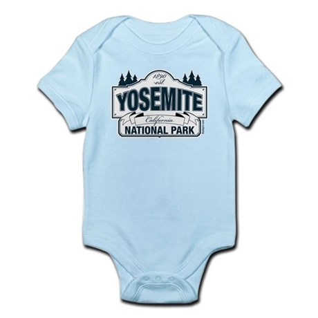Yosemite Slate Blue Infant Bodysuit