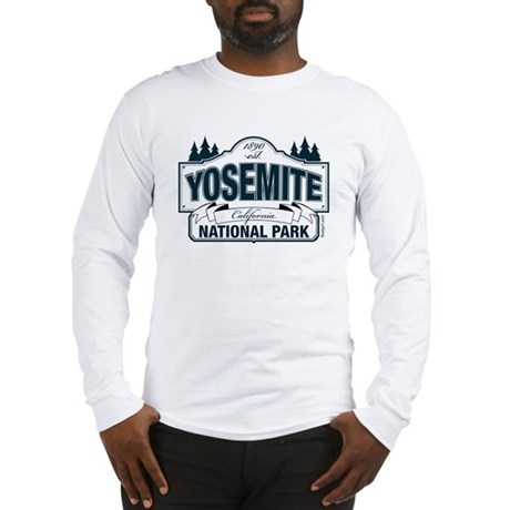 Yosemite Slate Blue Long Sleeve T-Shirt