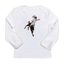 Bid over Shoulder.png Long Sleeve Infant T-Shirt