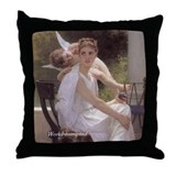 """Le Travail Interromptu"" Throw Pillow"