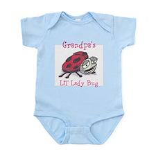 Grandpa's Lil Lady Bug Infant Bodysuit