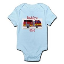 Daddy's Girl Fireman Infant Bodysuit