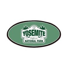 Yosemite Green Sign Patches