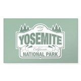 Yosemite Green Sign Decal