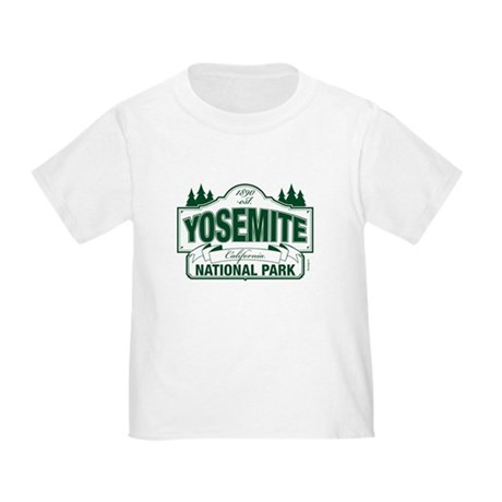 Yosemite Green Sign Toddler T-Shirt